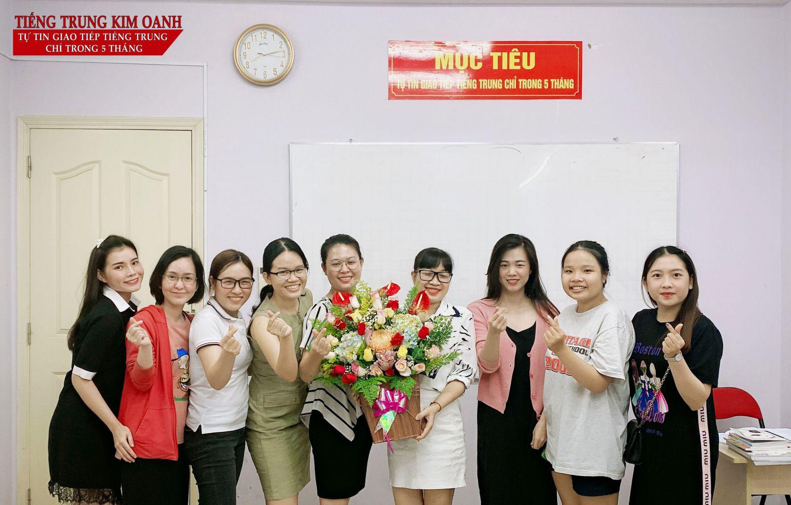 Giáo viên tiếng Trung Tại Tiếng Trung Kim Oanh