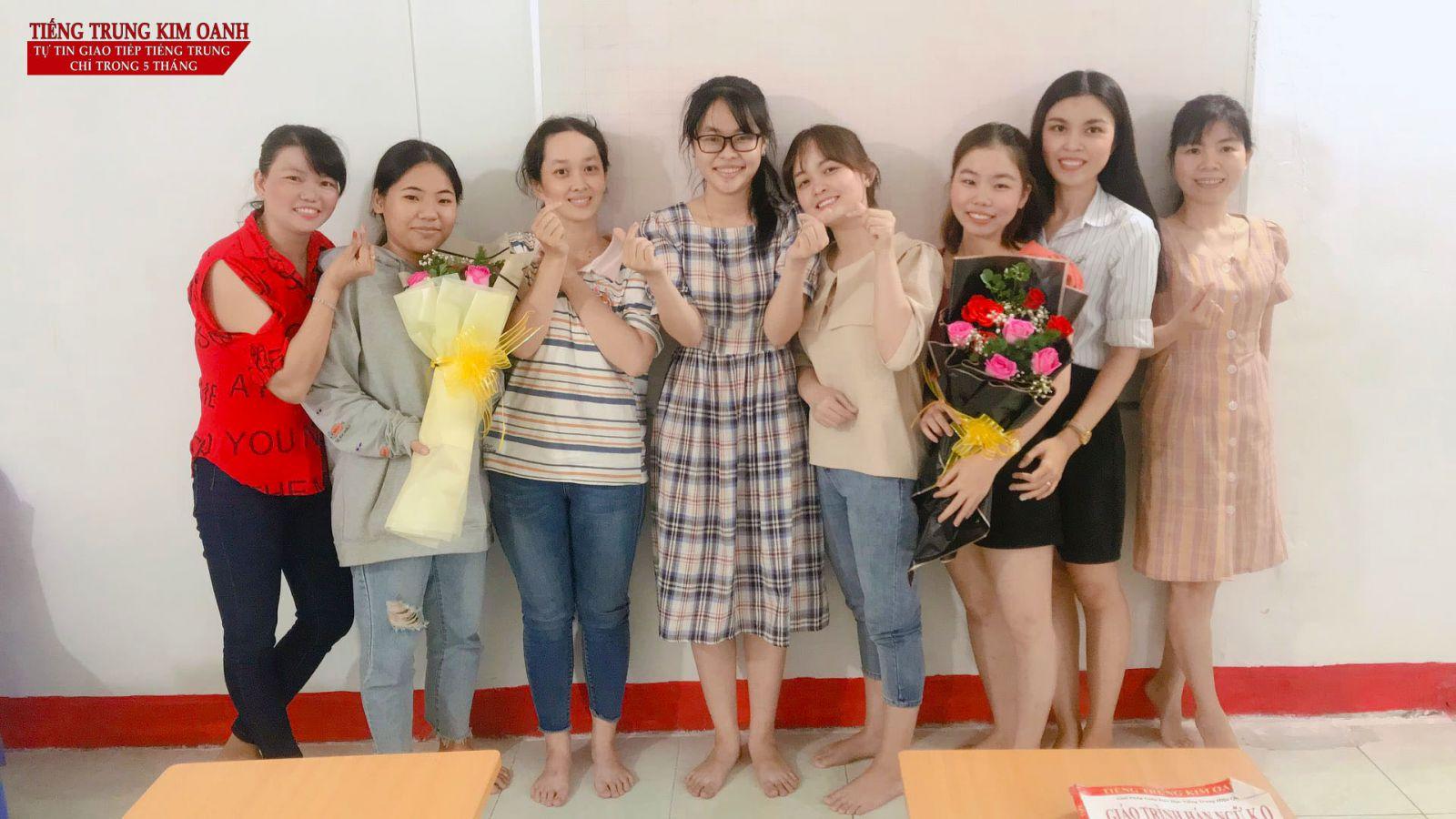 Lớp học tại Tiếng Trung Kim Oanh