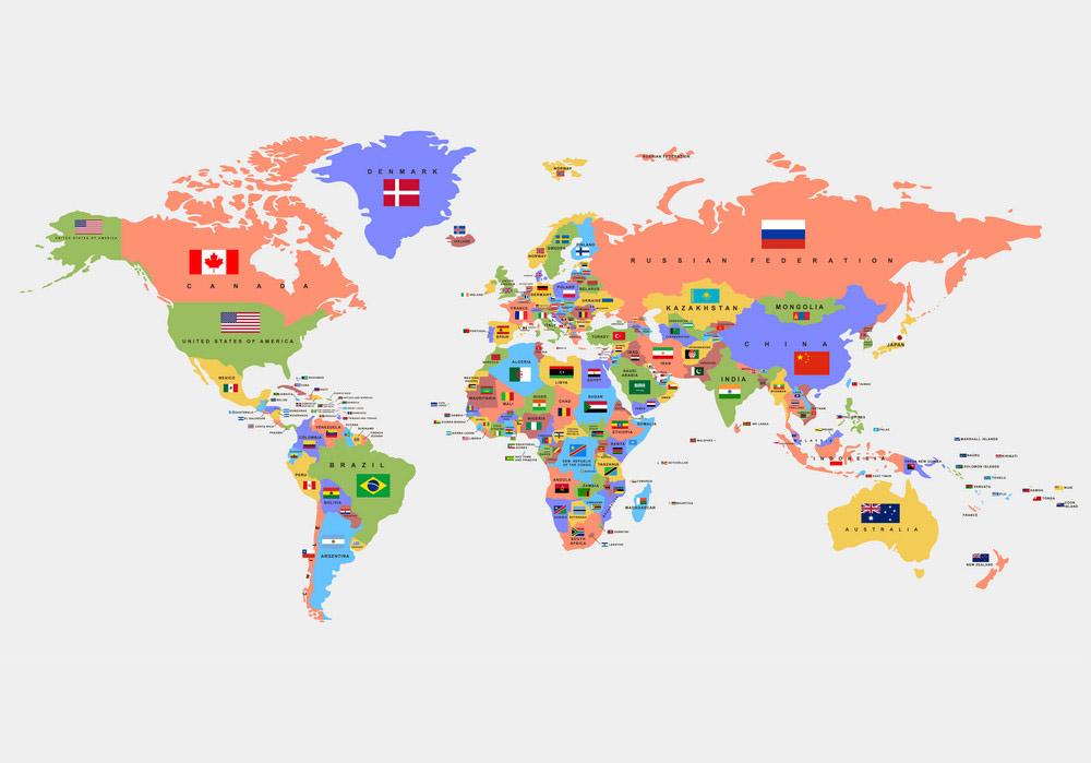 tên các quốc gia bằng tiếng Trung