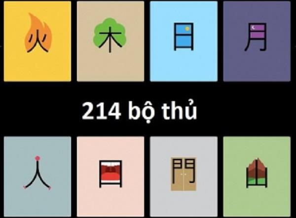 Học 214 bộ thủ trong tiếng Trung giúp bạn viết dễ dàng hơn