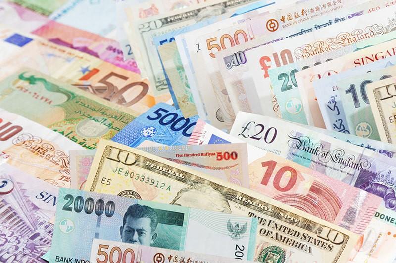 Các loại tiền bằng tiếng Trung