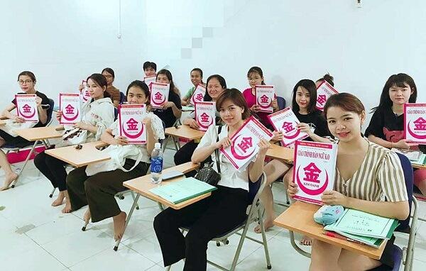 Lớp học tiếng Trung tại Tiếng Trung Kim Oanh