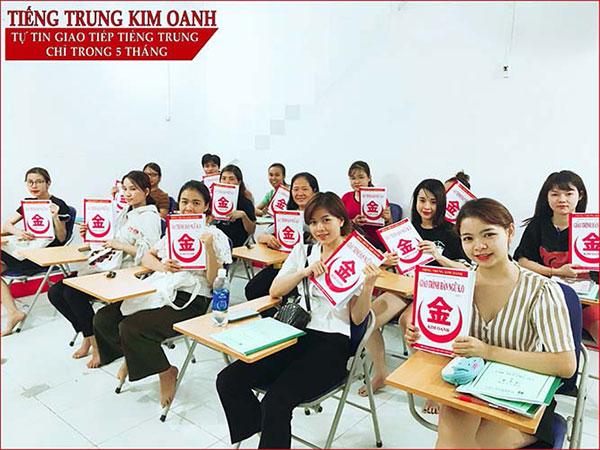 Khóa học tiếng Trung giao tiếp cơ bản cấp tốc tại Tiếng Trung Kim Oanh